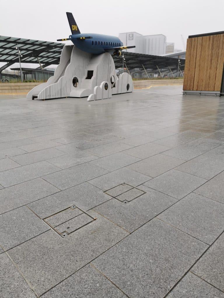 Jesmig Brønddæksler i københavns lufthavn CBH Kastrup